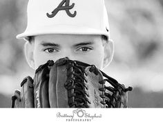 Bringing your sport, into your senior portraits! Credit: Brittney shepherd photography