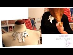 DIY#3 COLLAR DIY CON LA TROQUELADORA BIG SHOT - YouTube
