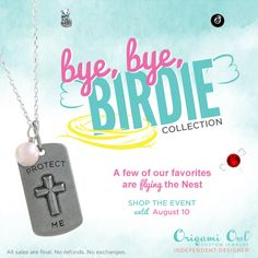 Origami Owl retiring pieces will soon be gone, gone, gone! Click on the pic to order yours today!