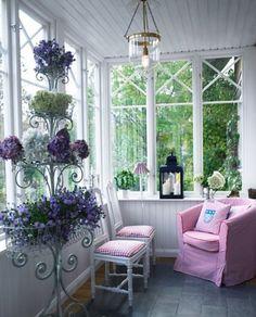 sun porches, plant stands, plants, windows, enclosed porches