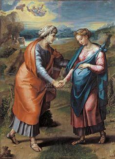 Raphael - The Visitation