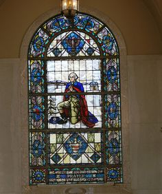 George Washington Stained Glass