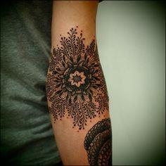 le tatooer, mandala