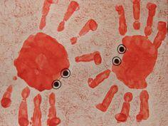 Crab handprints!