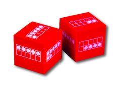 AHHHHH - LOVe these!!! Primary Cubes with ten frames 1-10