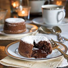Mocha Java Cakes - It will be hard to have just one bite of this decadent dessert! The rich melted chocolate center and moist chocolate is perfection for chocolate lovers.