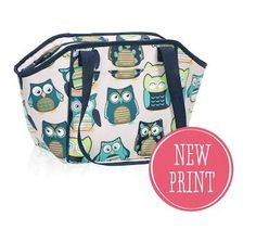 Lunch Break thermal available in August 2014 for Hostesses! Two new prints!!