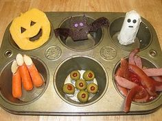Halloween meal for kids