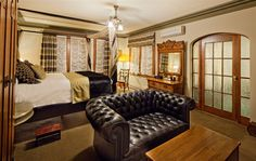 Abigail's Hotel is rated the #1 hotel in B.C. on TripAdvisor! All the rooms are as unique as the one in this pin.