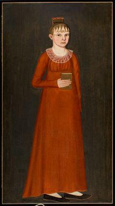 Full length portrait of Lucy Wheeler
