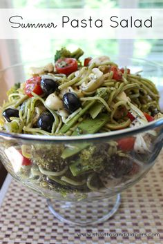 Summer Pasta Salad {Recipe}