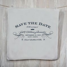 Handkerchief Wedding Invitations #wedding #invitations #handkerchief