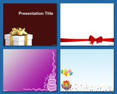 Birthday / Celebration / Party #free powerpoint templates #powerpoint templates #templates powerpoint