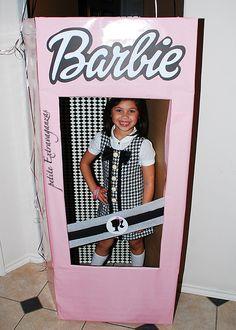 Life-size Barbie box