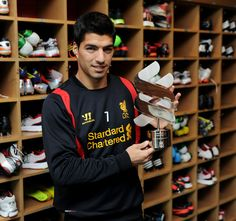 Luis Suarez spoke of his pride after today being named the Standard Chartered Player of the Month for September.