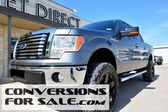 2011 Ford F-150 Super Crew XLT Lifted Truck