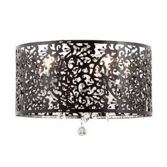 Nebula Ceiling Lamp Black now featured on Fab.