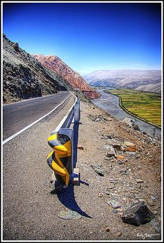On the road to Arequipa, Peru  This world is really awesome. The woman who make our chocolate think you're awesome, too. Try some Peruvian Chocolate today! http://www.amazon.com/gp/product/B00725K254