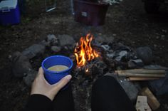 Camping or RVing year round? Nothing like a great cup of hot chocolate around the campfire right? Click for easy outdoors ideas & recipes... :)