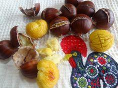 How to Roast Chestnuts Recipe: http://portuguesediner.com/tiamaria/correia-farms-chestnuts-castanhas/