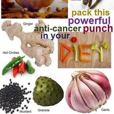 Anti-cancer foods.