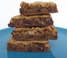 Chewy Chocolate Toffee Marshmallow Cookie Bars - taste like Starbucks Fantasy Bars!