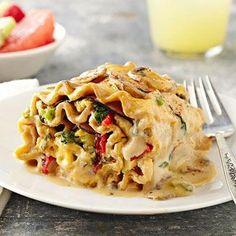 Breakfast Lasagna Rolls