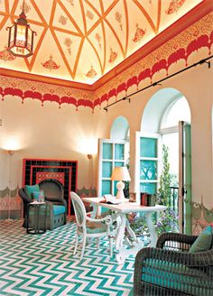 Palazzo Margherita is the fifth and most luxurious hotel owned by Coppola.