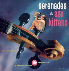 music, album covers, record, sex kitten, vintag album