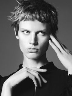 If ever I'd have my hair cut short... Zara Women – The Mood Campaign