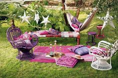 time for a purple picnic