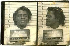 James Brown mugshot