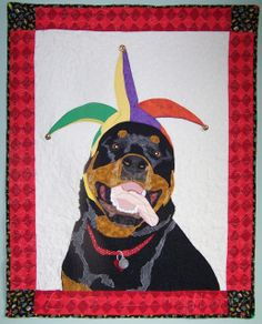 """""""Bogey-My Heart"""" quilt by Jan Queijo, 2011, Crazy Dog Lady Quilts"""
