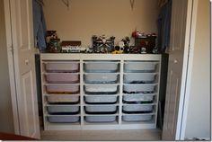 Ikea Trofast for Legos