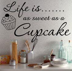 Life is.... as sweet as a cupcake. #sweetnothings
