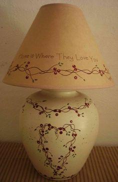Primitive Country Vine Pip Berry Stoneware by MyAdelinesPlace, $85.00
