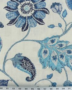 Throw pillows: Spring Mix Ultramarine (SPXULE)