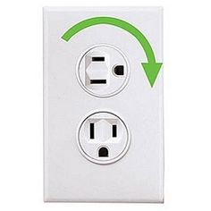 Electrical Outlets - 360-degree turning outlets