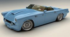 1955 Custom Ford T-Bird  Some design is classic. Some design is innovative