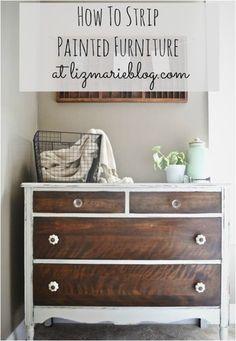 The best DIY restoring furniture blog I've seen yet! She is so talented!