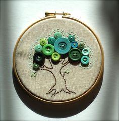 Embroidery Hoop wall art