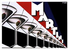 Martini Art Deco Ad. @Deidré Wallace