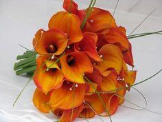Summer Wedding Orange  Design by Emma Lappin Flowers