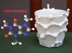 Caffeine Mugs from the chemical formula for caffeine