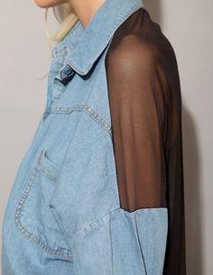 fashion, mullet, inspiration, style, denim shirts