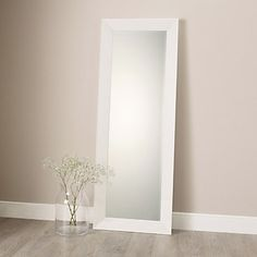 Mirrors on pinterest 3 way mirrors ornate mirror and for White framed long mirror