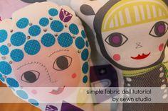 simple fabric doll tutorial