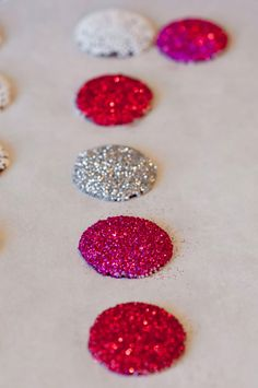 diy candy jewels-you can have your glitter and eat it too!