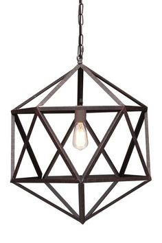 Amethyst Small Ceiling Lamp $319