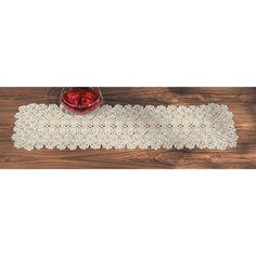 Crocheted Table Runner - OrientalTrading.com #OrientalTrading.com #ChristmasWishList